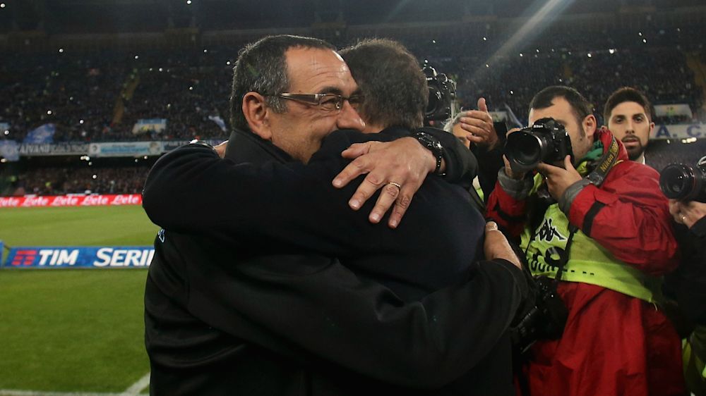 Sarri: Napoli forced Juventus to change approach