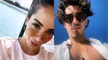 Anitta e Gabriel David curtem férias nas Ilhas Maldivas