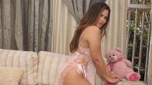 Geisy Arruda sensualiza em publicação e fãs detonam 'pés sujos' da modelo