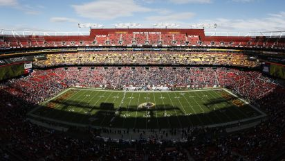 In '20, no fans in stands for Washington Football Team