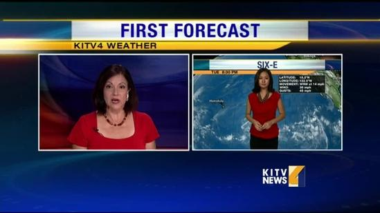 Tropical depression forms; heads toward Hawaii