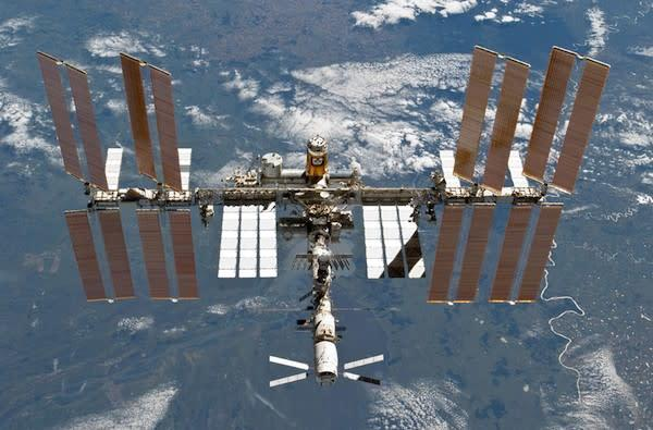NASA says International Space Station is now 'essentially' complete