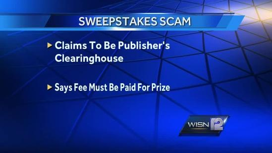 Officials warn of Wisconsin prize scam