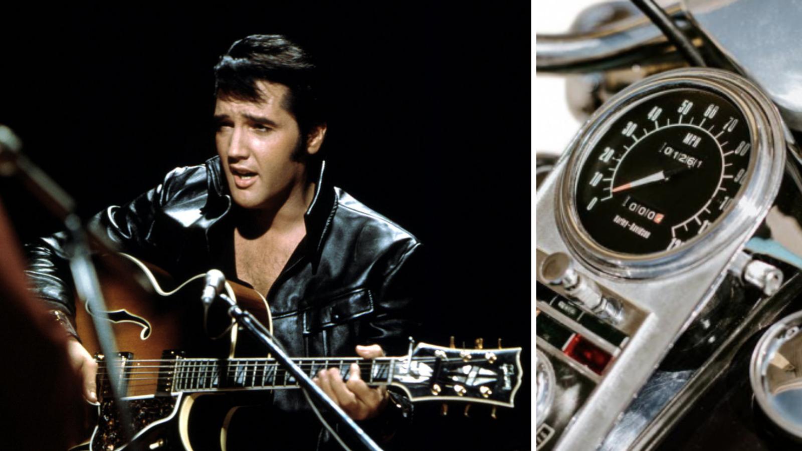 You can buy Elvis Presley's 1976 Harley-Davidson for $3 million