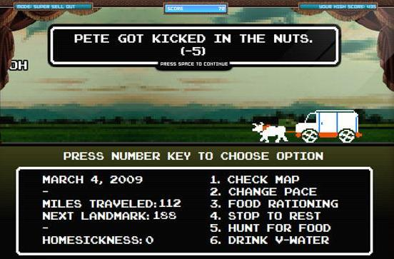 Fall Out Boy goes on Oregon Trail, dies of starvation