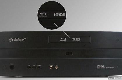 Inteset stuffs HD DVD / Blu-ray combo drive in media PCs