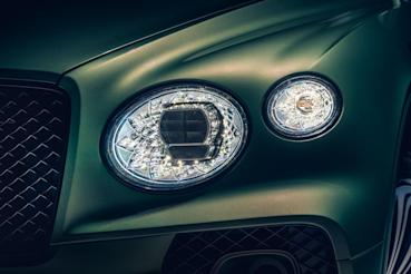 與時俱進Bentley Bentayga facelift