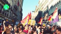 Madrid Protest Calls for Referendum on Monarchy