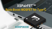 Alpha and Omega Semiconductor Announces Latest XSPairFET™ Buck-Boost MOSFET for Type-C Applications