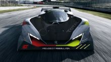 Our first look at the Peugeot hypercar for Le Mans