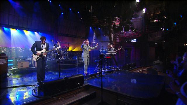 Live On Letterman - Two Door Cinema Club: Changing of the Seasons