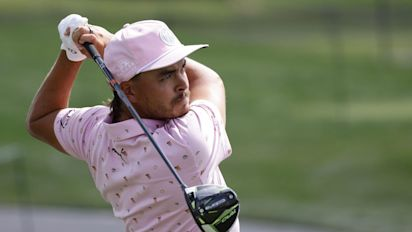 Sir Nick Faldo suggests Rickie Fowler spends too much time 'shooting commercials'