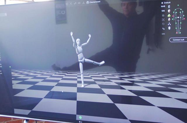 This mocap suit records Hollywood-quality animation at indie film prices