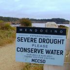 California town says the worsening drought is drying up its water supply