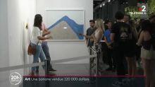 Art contemporain : une banane vendue 120 000 dollars
