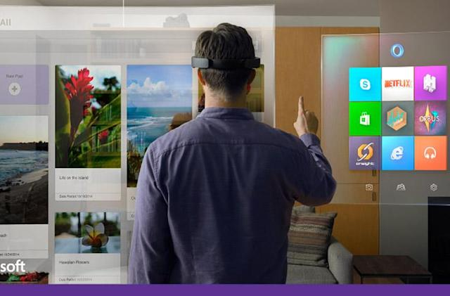 HoloLens is Microsoft's take on augmented reality