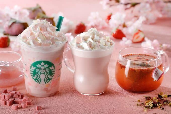 Starbucks 櫻花飲品