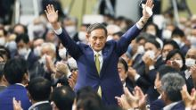 After sweeping party poll, Japan's Suga faces tricky call on snap election