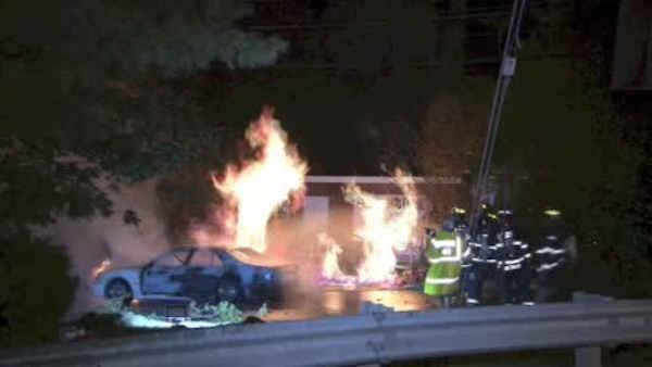 Downed power lines spark fires in Mamaroneck