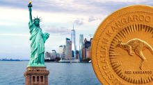 That's a lot of coin! Mammoth $64m Aussie gold coin heads to New York Stock Exchange