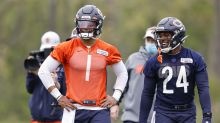 WATCH: One lucky fan receives surprise from Justin Fields and Bears rookie class