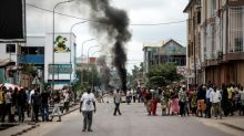 One killed as DR Congo police fire on banned protests