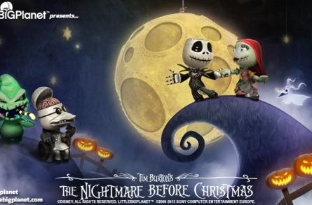 What's this? What's this? The Nightmare Before Christmas invades LittleBigPlanet's dreams