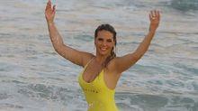 Carla Perez responde a internauta que a chamou de gordinha: 'Tô feliz e com saúde'
