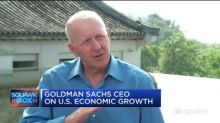 Goldman Sachs CEO: Economy is 'chugging along' in Q2