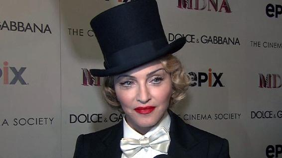 Madonna: The MDNA Tour NYC Premiere