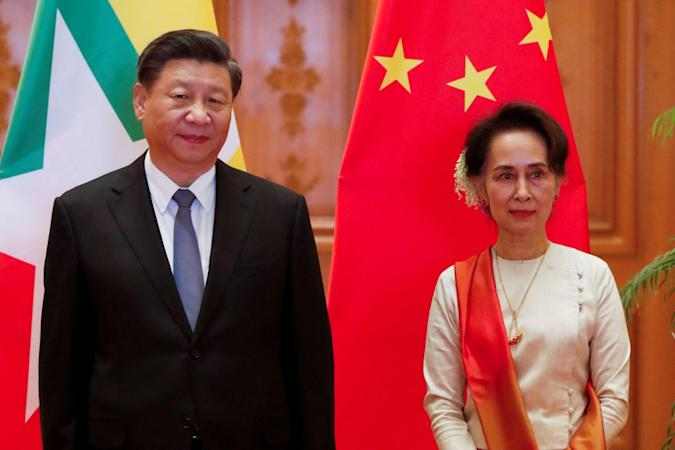 NYEIN CHAN NAING/POOL/AFP via Getty Images