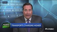 Transports charging higher