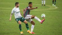 Marcos Paulo diz que Fluminense propôs o jogo, mas faltou eficiência