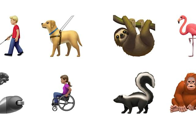 Apple and Google show off their more inclusive emoji for 2019