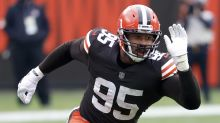 Browns' Garrett 'due,' wants to leave impression on Mahomes
