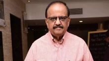SP Balasubrahmanyam Tests COVID-19 Negative; Son SP Charan Says 'He Is Writing And Communicating'