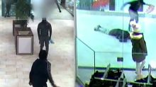 Shocking CCTV shows knife fight between two gangs after row in Nike store