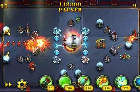 Fieldrunners HD storms Android June 30, $.99 for first 24 hours