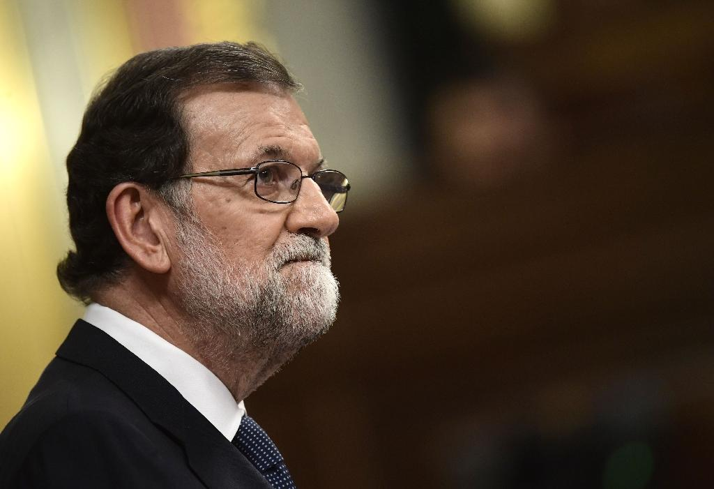 Prime Minister Mariano Rajoy has taken Spain into uncharted legal waters by moving to wrest back powers from semi-autonomous Catalonia (AFP Photo/JAVIER SORIANO)