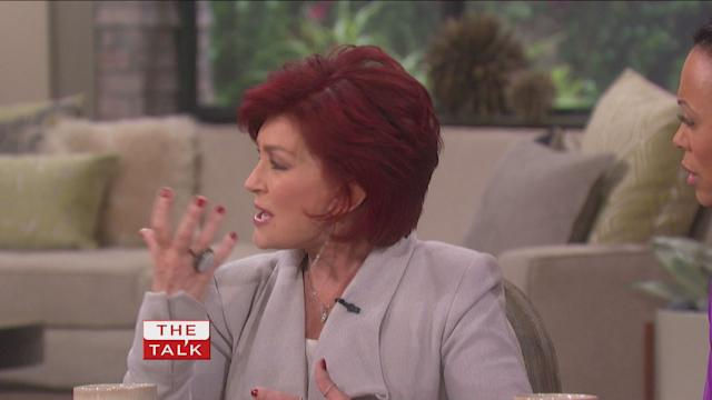 Sharon Osbourne Discusses House Fire on 'The Talk'