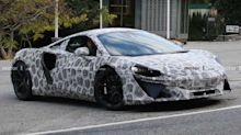 New McLaren hybrid supercar spied looking production ready