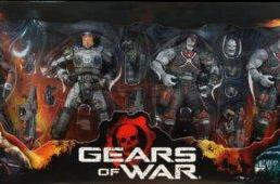 NECA announces Gears of War figure boxed set