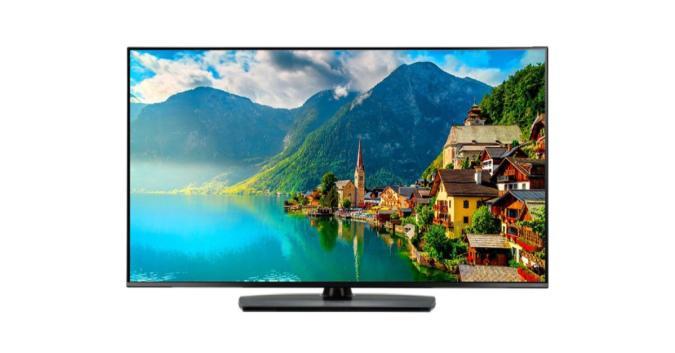 A 49-inch LG TV.