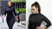 El corsé que (casi) nunca se quita Ashley Graham