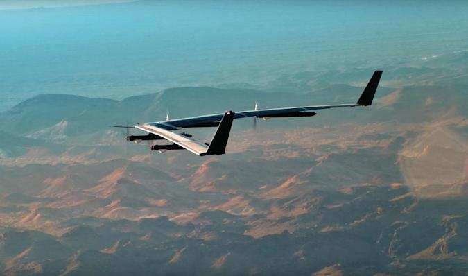 Facebook's internet drone crash-landed because it was windy