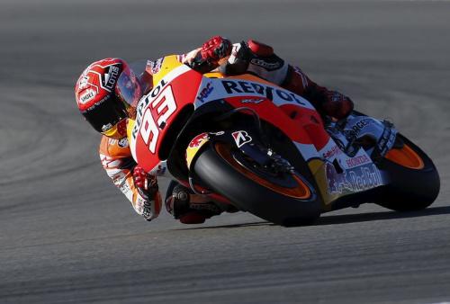 Marquez remporte le GP des Amériques, Rossi leader