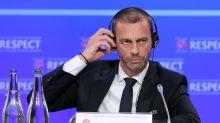 UEFA president keen to ban breakaway Super League clubs 'as soon as possible'