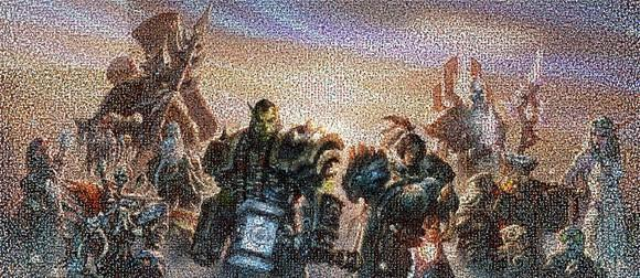 World of Warcraft 5th Anniversary mosaic finally complete