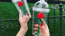 """Un vaso """"La Bella y La Bestia"""""""