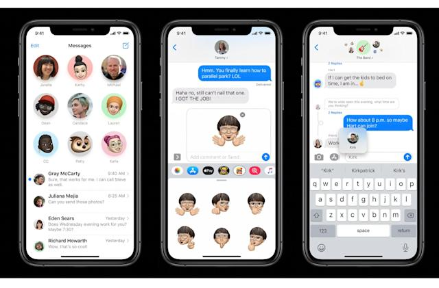 Apple's revamped Messages focuses on groups